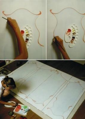 Deco design mn c mo decorar con biombos - Biombos chinos antiguos ...