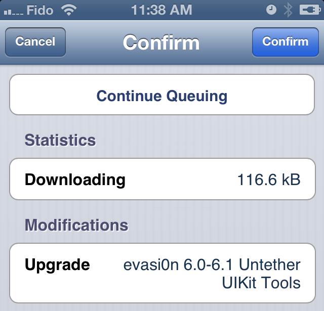 Evasi0n iOS 6 Fix