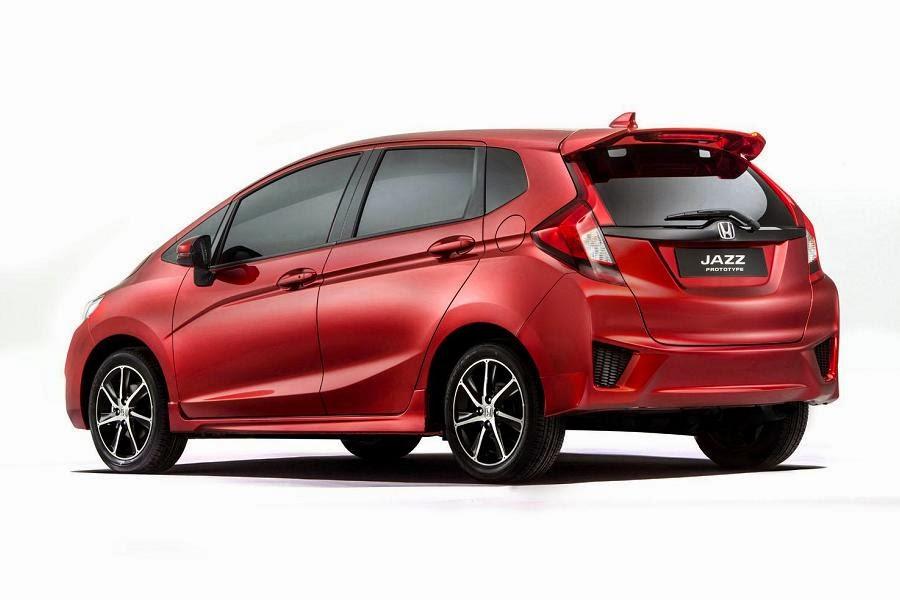 Honda Jazz Prototype (2015) Rear Side