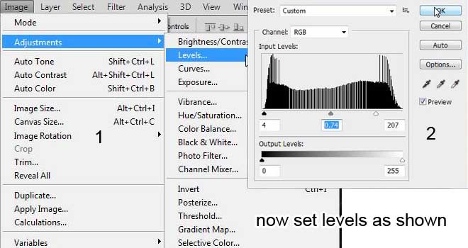 how to get vignette on photoshop
