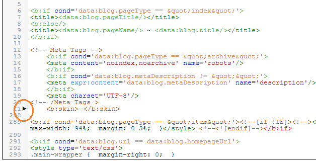 Use New Blogger HTML Editor