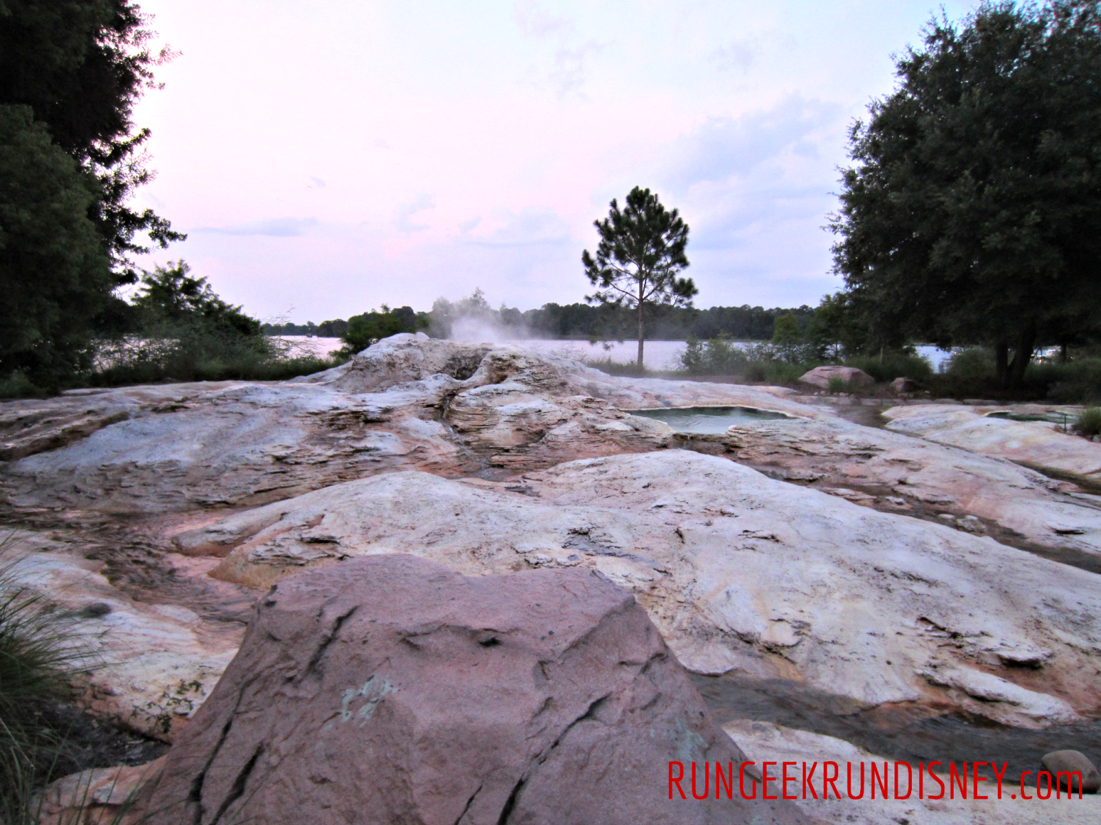 Fire Rock Geyser