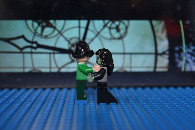 elphaba fiyero lego in wicked musical