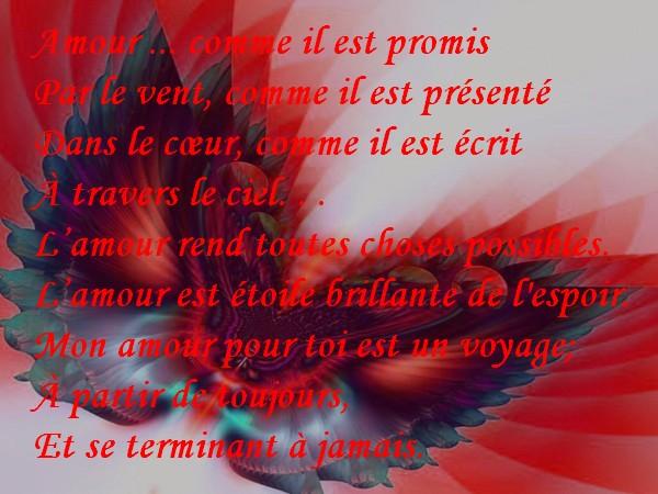 Message d 39 amour et d 39 amiti carte amour avec texte voyage de l 39 amour - Carte d amour ...