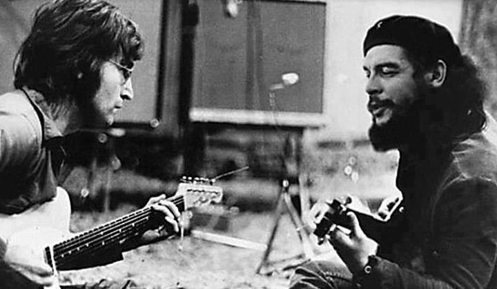 Che Guevara And John Lennon Power Of Photo Faking