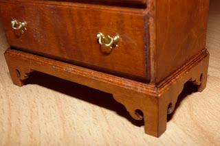 Commode,Chippendale,Miniature,William ROBERTSON