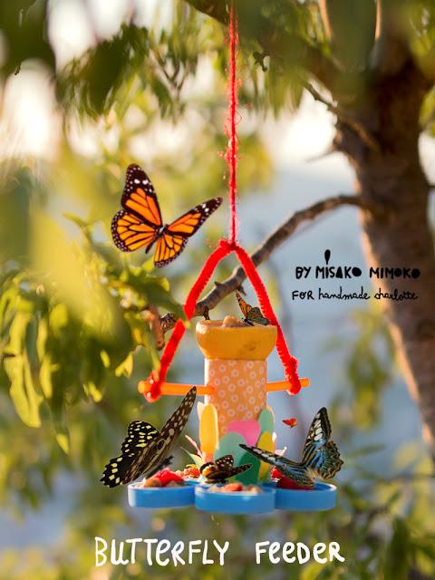 DIY Comedero de mariposas por Misako Mimoko