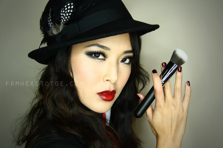 U0026quot;Gangsteru0026quot; Smoky Eye For Any Costume (makeup U0026 Hair ...