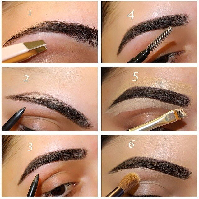 How To Draw Eyebrows On Your Face Image Collections Eye Makeup