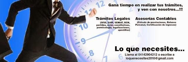 LoquenecesitesTramites con Responsabilidad y Profesionalismo