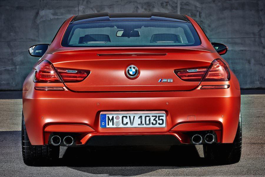 BMW M6  マイナーモデルチェンジ 2015