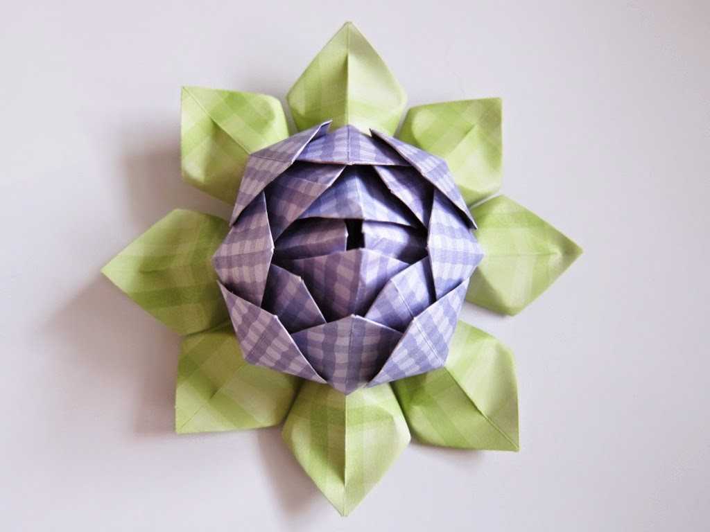 origami lotus flower instructions pdf
