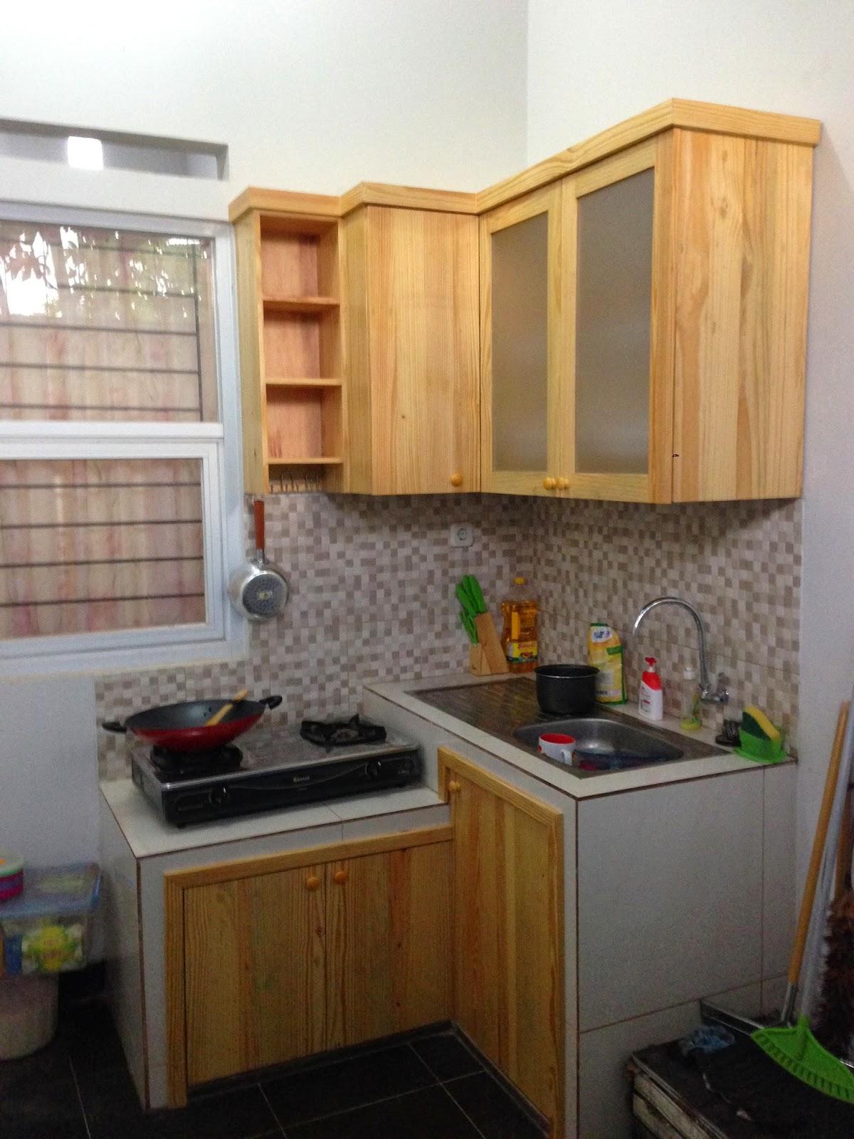 Kitchen Set Dining Set Shoes Rack Pak Aben Bintaro Insinyur Kayu