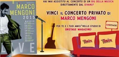 Vinci il concerto privato di Marco Mengoni
