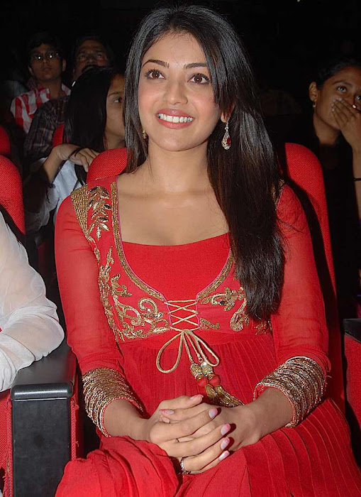 kajal agarwal at businessman audio launch, kajal new cute stills