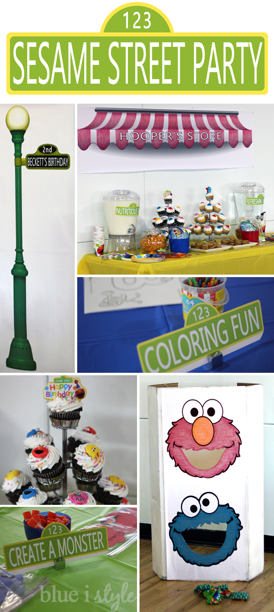 A Sesame Street Second Birthday Party