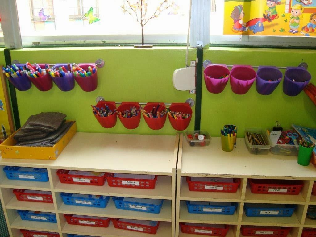Rincones de colores la organizaci n del aula en educaci n for Decoracion de espacios de preescolar