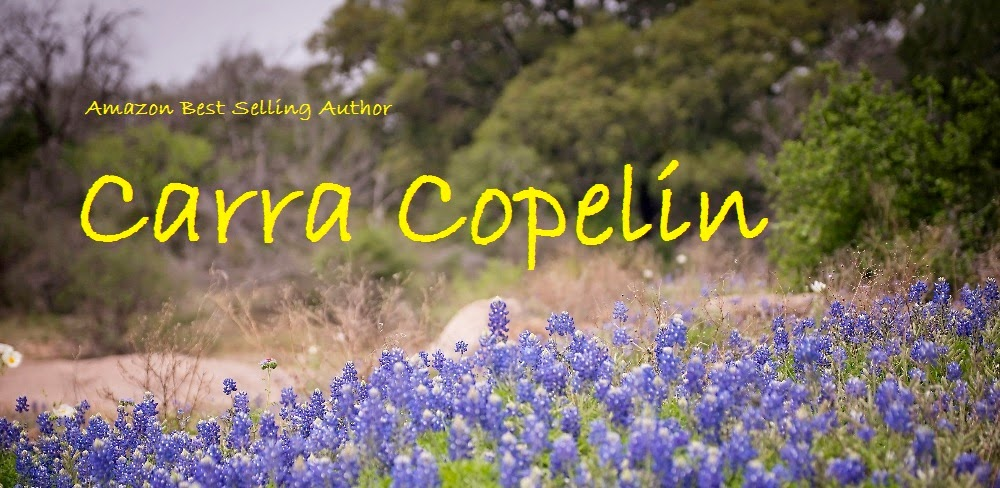 Carra Copelin, Contemporary and Historical Romantic Suspense Writer