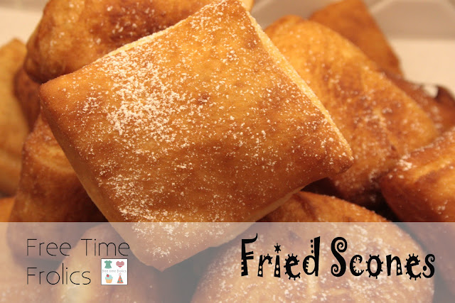 Utah Fried Scone recipe www.freetimefrolics.com