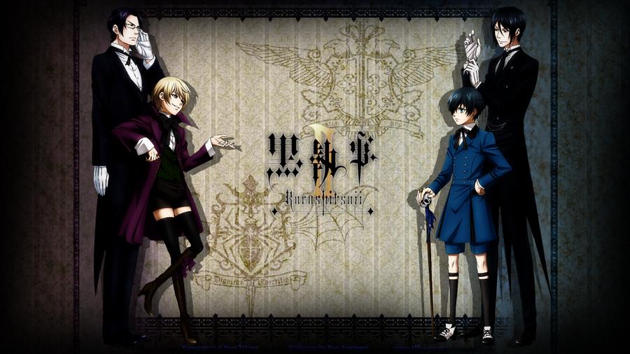 Hd wallpaper untuk laptop - Cen S Bl G Kuroshitsuji Black Butler 2