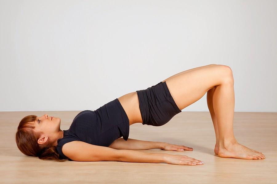 bridge pose yoga