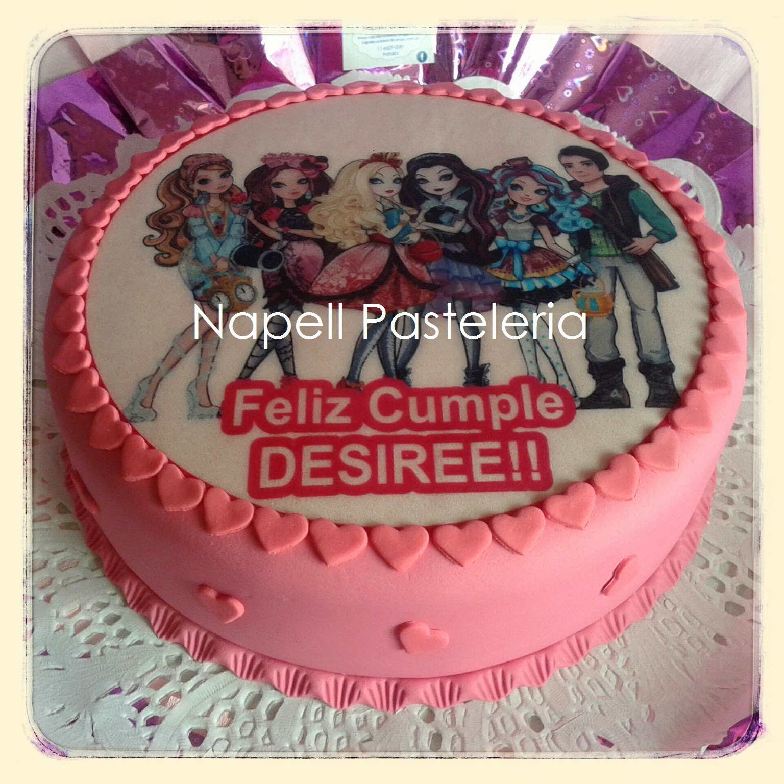 Torta Ever after high