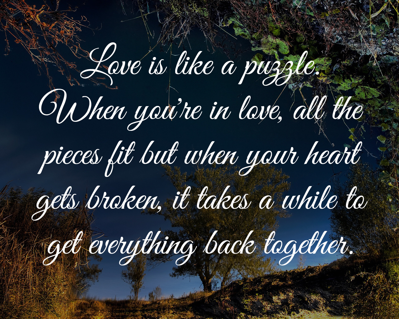 Together Quotes Love Is Like A Puzzle  Love Quotes And Covers