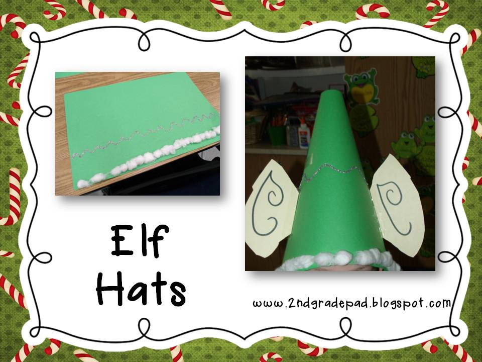 Good 2nd Grade Christmas Craft Ideas Part - 10: Christmas Craft Day And Freebie #6