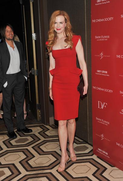 Nicole Kidman Gece Elbiseleri