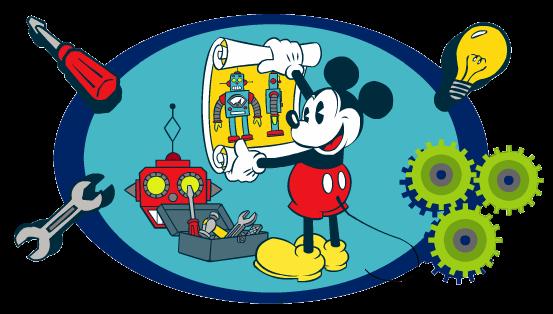 Mickey cientifico