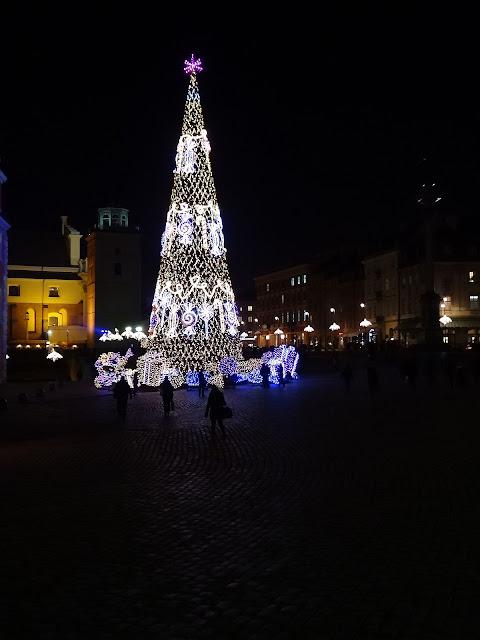 Ledowa choinka Warszawy 2013