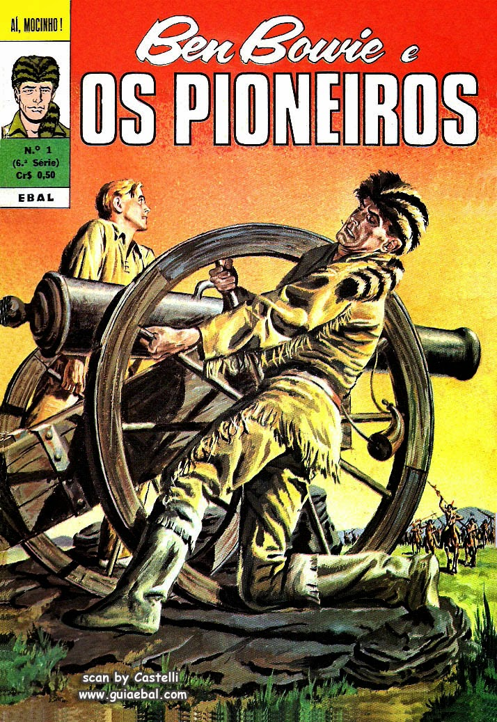 OS PIONEIROS Nº 001 1970 BEN BOWIE