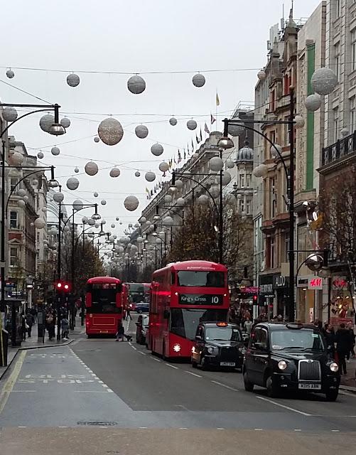 Oxford Street - London - Christmas 2015
