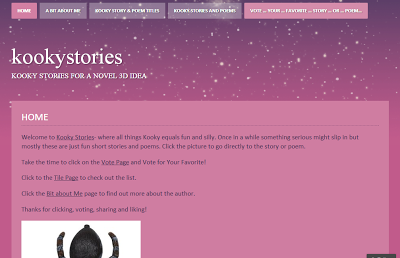 Kooky Stories Personal WordPress Blog