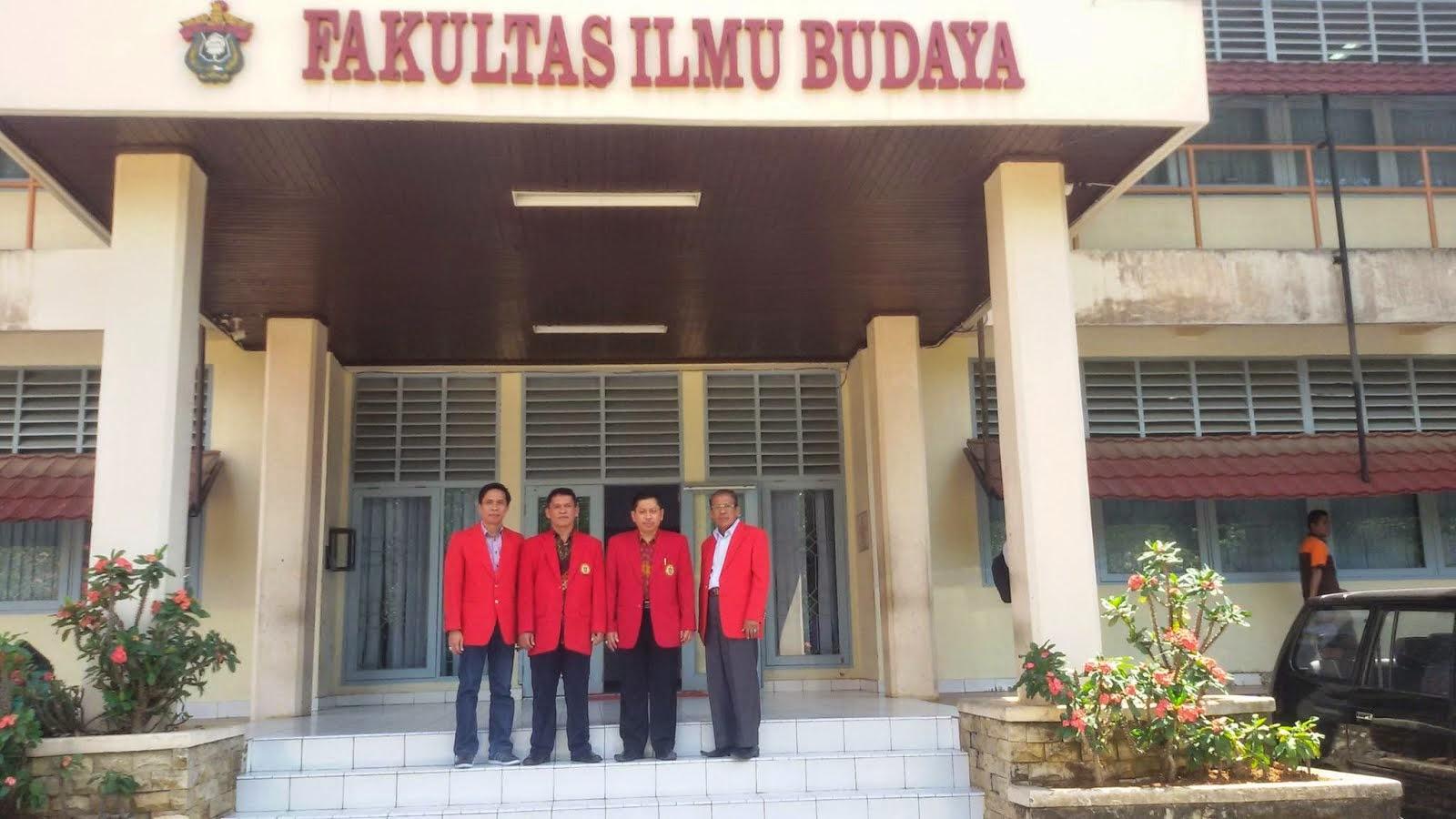 Pimpinan Fakultas Sastra (FIB) Unhas