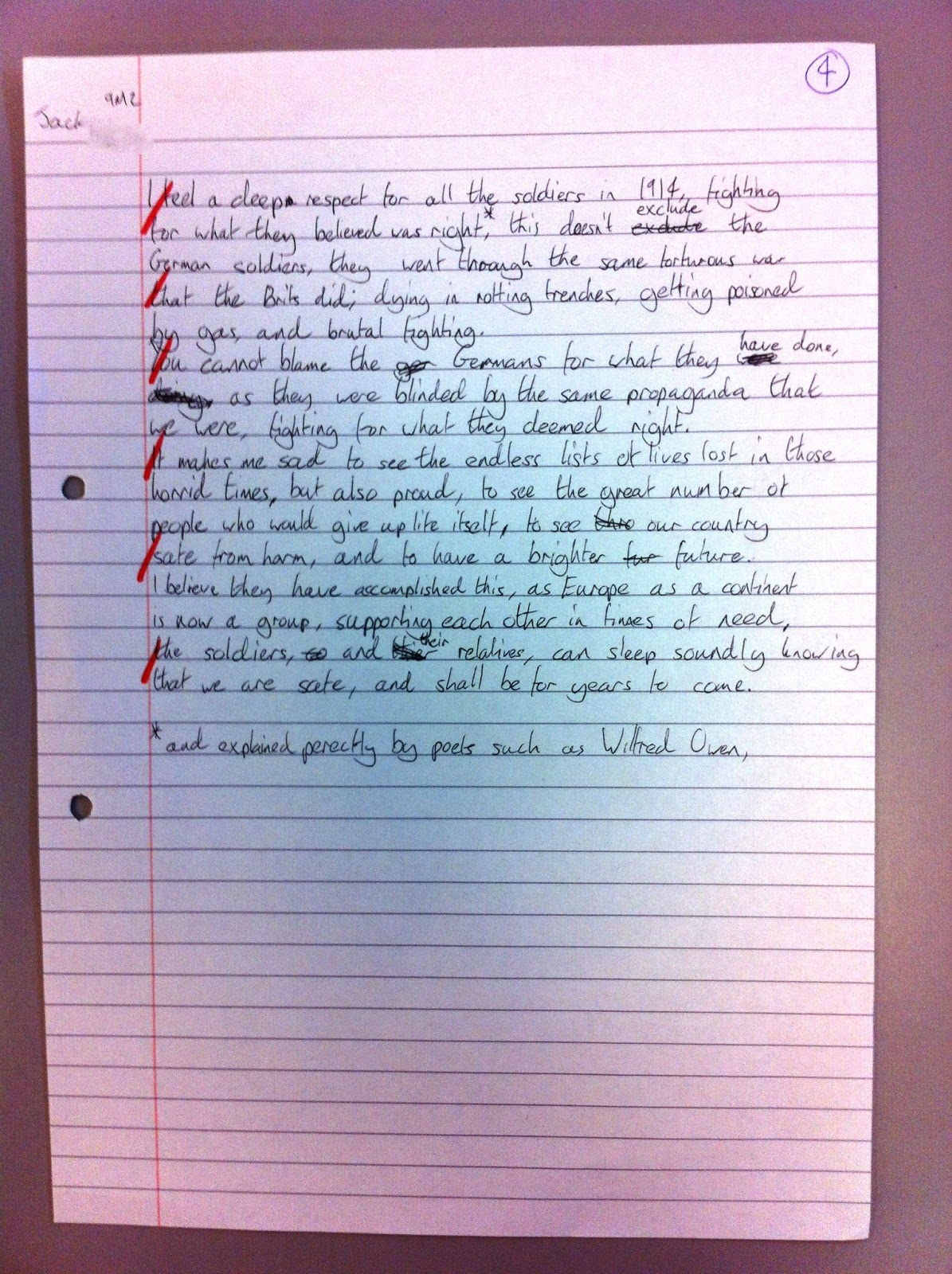 analytical essay war poetry Essays and criticism on wilfred owen - critical essays wilfred owen poetry: british analysis of soldiers during world war i in perhaps his best known poem.