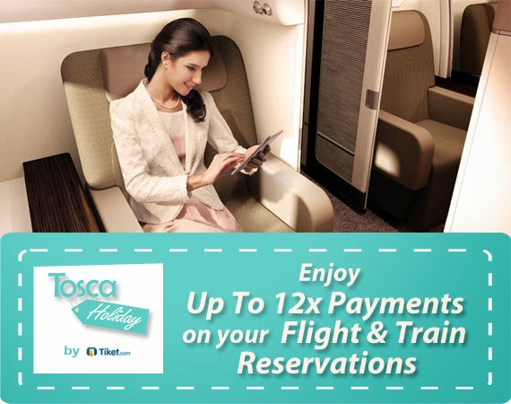 easy 12x payment tosca holiday