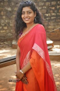 Actress-Sunitha-Stills-in-Saree-at-Maa-Palle-Repallenta-Audio-Launch