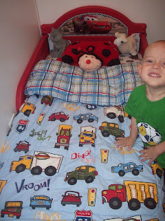 Converting to a toddler bed!