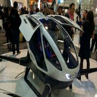 Drone que consegue transportar uma pessoa é lançado na CES 2016