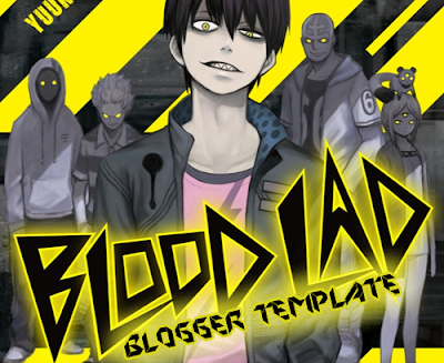Blood Lad Anime Blogger Template