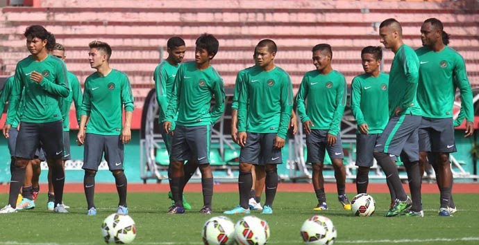 Skuad Timnas Indonesia vs (Kamerun + Myanmar) 2015