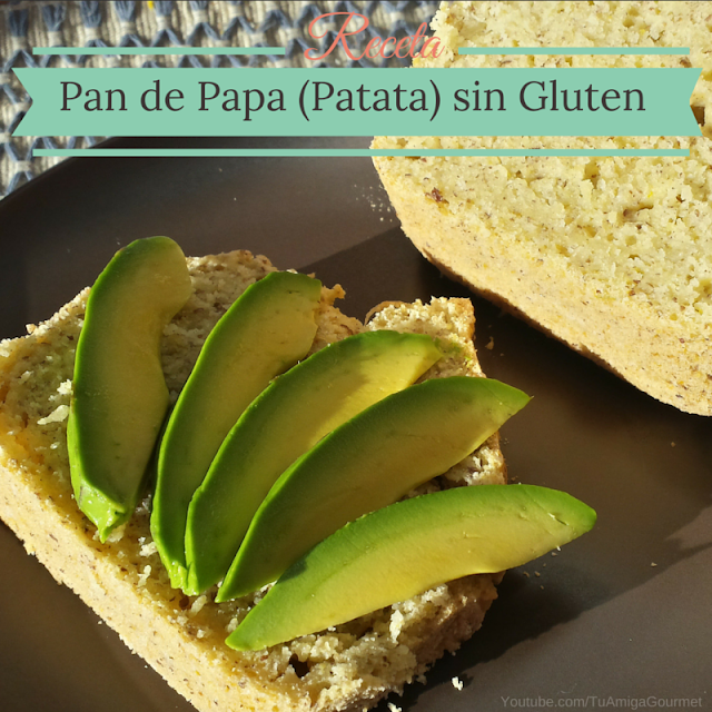 Receta: Pan de papa sin gluten