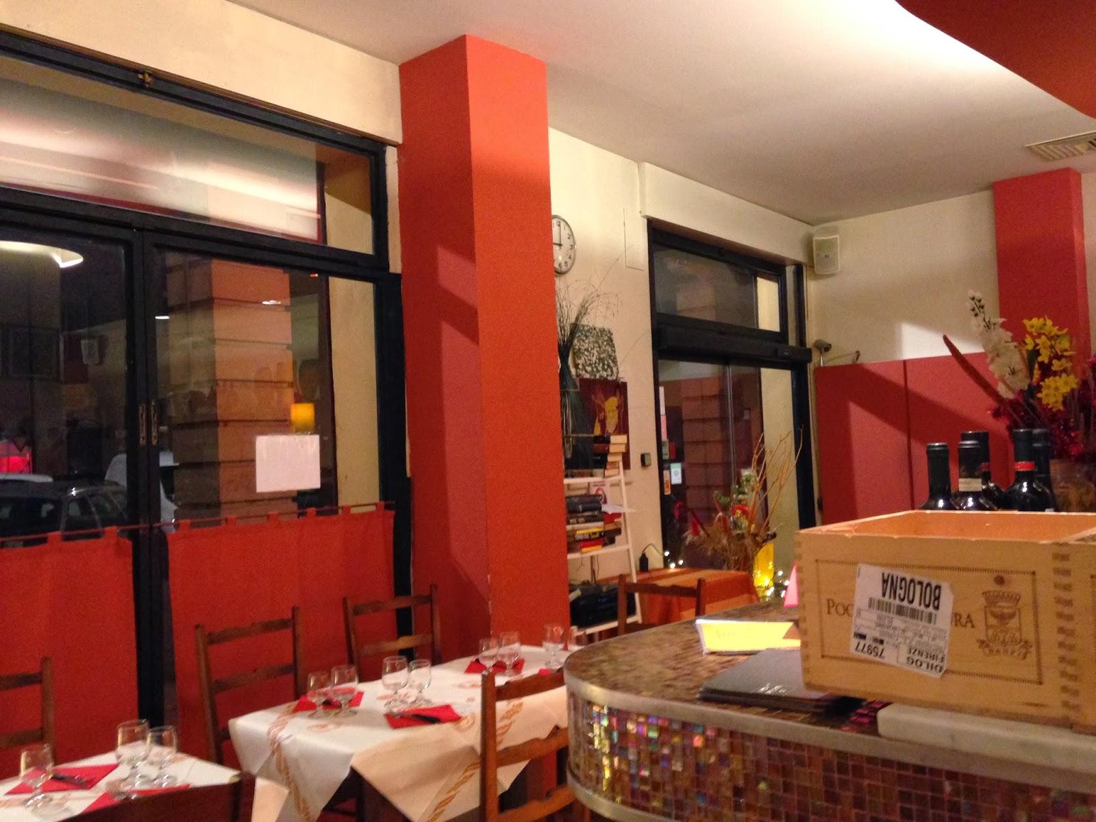 Bologna e non solo ristorante rosso san martino for Ristorante il rosso bologna