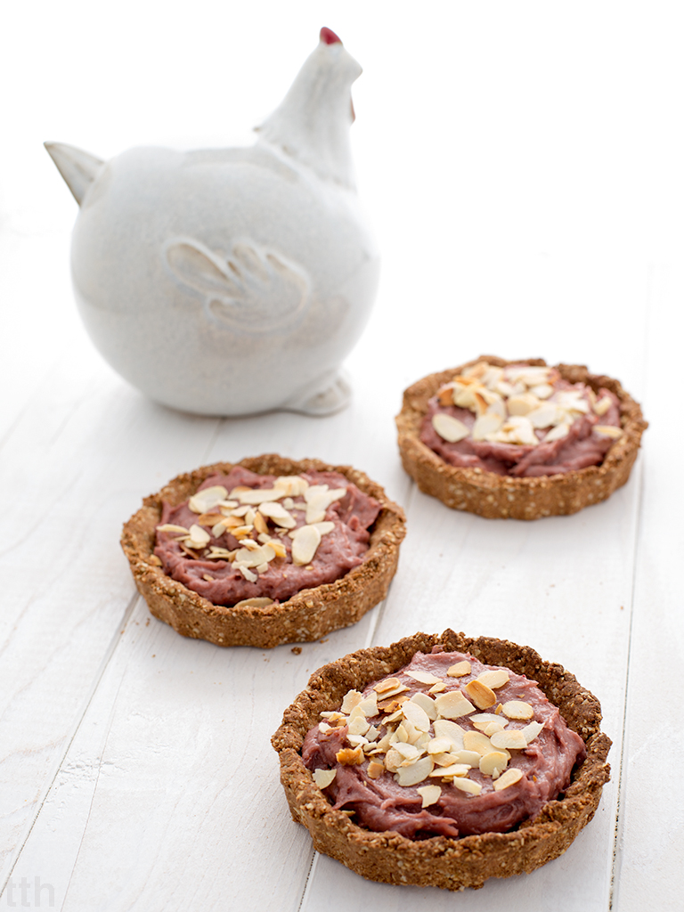 Mazurki jaglano-różane wegańskie bezglutenowe bez cukru roślinny blog kulinarny przepis
