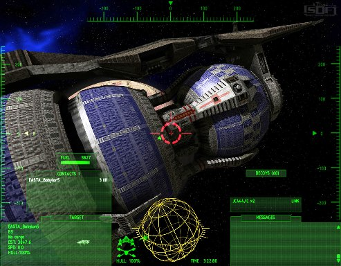 free Babylon 5 RPG Flight simulator