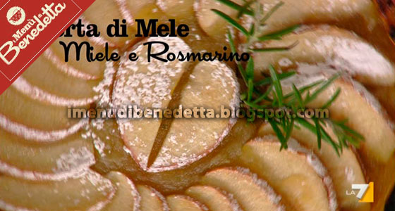 Torta di Mele Miele e Rosmarino di Benedetta Parodi