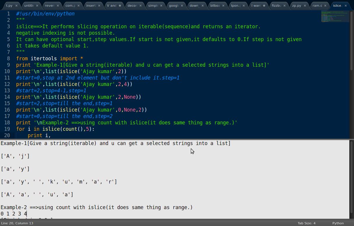 Python-My No... Python Apps Examples