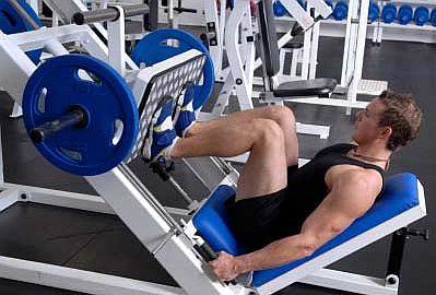 machine for legs