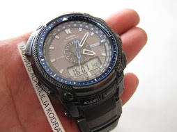 SOLD CASIO PROTREK PRG500Y - TOUGH SOLAR - 3 SENSORS